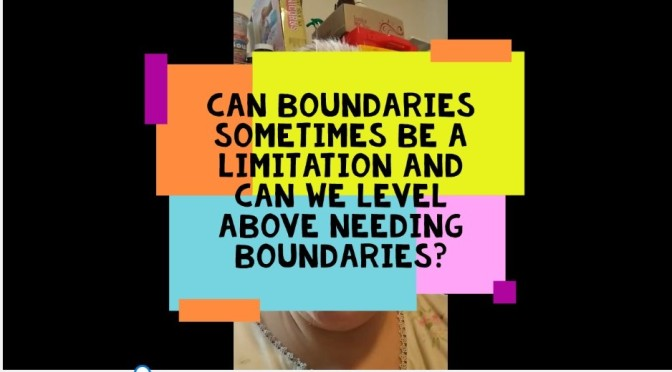 Can Boundaries Be A Limitation? Video