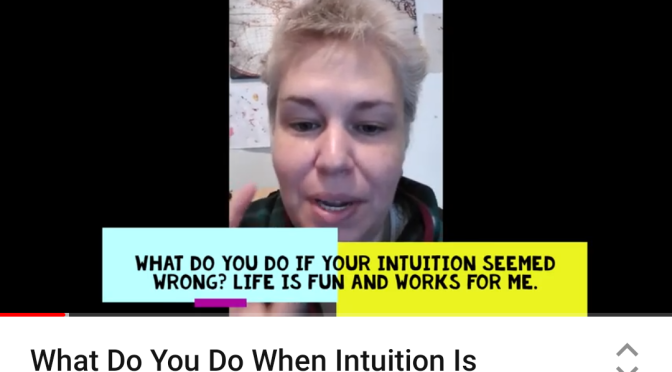 What If Intuition Steers You Wrong – Video.