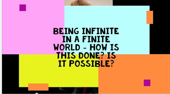 Limitlessness in a Finite World. Video