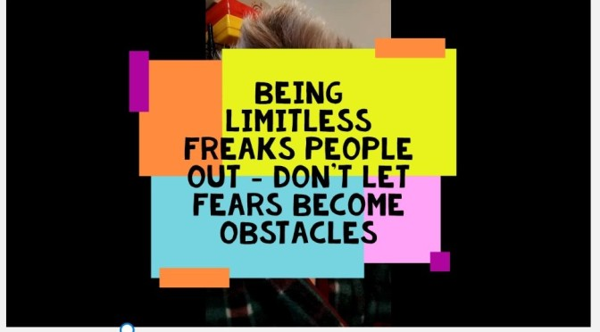 Being Limitless Freaks People Out. Video